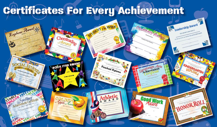 Certificates for Every Achievement